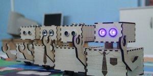 Minikler yerli ve milli robotlarla öğreniyor