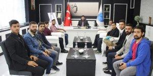 Turan Topluluğundan Rektör Karacoşkun'a ziyaret