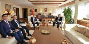 Vali Deniz Bakan Ersoy ile Manisa yatırımlarını görüştü