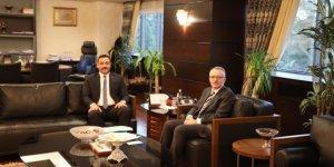Rektör Kalan, Ankara'da bütçeyi görüştü