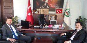 Kaymakam Fırat'tan Başkan Demirci'ye iade-i ziyaret