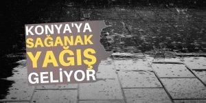 Konya'ya sağanak yağmur geliyor!