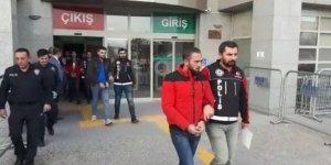 Aksaray'da uyuşturucu operasyonu: 14 gözaltı