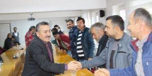 Başkan Tutal besicilerle buluştu