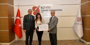 KTÜN'de Europass etiketli ilk diploma ekleri verildi