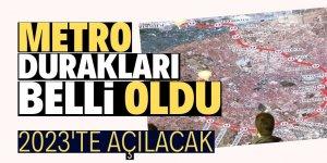 Konya metrosu güzergah ve duraklar belli oldu!