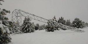Bozkır'da çok sayıda mahalleye elektrik verilemiyor