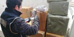 Aksaray'da 18 bin adet kaçak güneş gözlüğü ele geçirildi