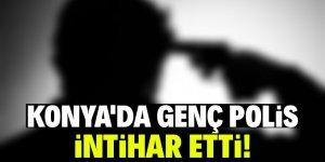 Konya'da polis evinde intihar etti!