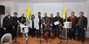 Onkoloji hastaları için müzik dinletisi
