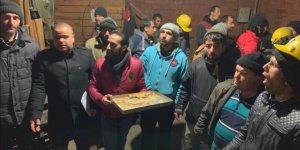 Kömür ocağındaki işçilerin iş bırakma eylemi sonlandı