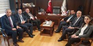 Karamanlı heyetten Türk Dil Kurumuna ziyaret