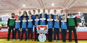 Selçuklu'dan Türkiye Şampiyonasında madalya şov