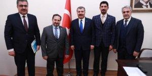 Ankara'da Ilgın'ın projeleri anlatıldı