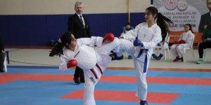 Karaman, analig karate grup müsabakalarına ev sahipliği yaptı