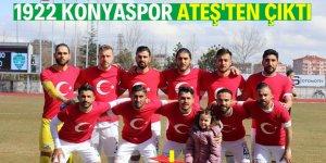 1922 Konyaspor 'Ateş'ten çıktı