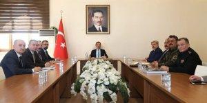 Aksaray'da İl Yükseköğrenim Güvenlik ve Koordinasyon Kurulu toplantısı yapıldı