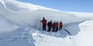 Hadim'de dağcılar  Akdağ'a tırmandı
