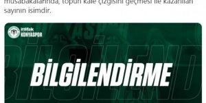 Konyaspor'dan verilmeyen gole tepki