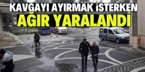 Konya'da kavgayı ayırmak isterken tüfekle vuruldu!