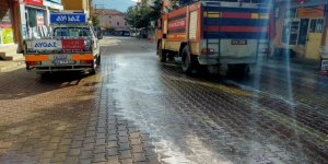Hüyük belediyesinden korona virüse karşı dezenfekte