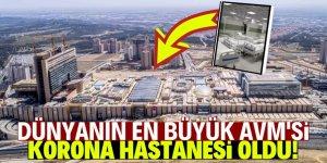 Dünyanın en büyük AVM'sini  hastaneye çevirdiler!