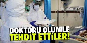 Sıtma ilacıyla koronayı tedavi eden doktora ölüm tehditleri yağıyor