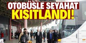 """Süleyman Soylu:""""Otobüs seyahatlerini kısıtlıyoruz"""""""