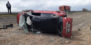 Ereğli'de otomobil attı: 3 yaralı
