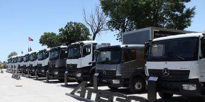 Mercedes'in yeni kamyonları yollarda