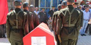 Şehit Üsteğmen, Karaman'da Toprağa Verildi