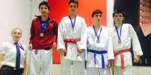 Selçuklu karatede ikinci oldu
