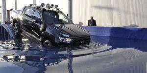 """Ford Ranger """"Su Geçişli Parkur Test Sürüşü"""" Konya'da"""