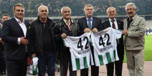 Konyaspor'da efsaneler unutulmadı