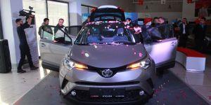 Toyota C-HR'nin gösterimi yapıldı