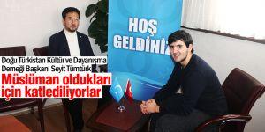 Uygur Türkleri destek bekliyor