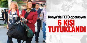 Konya Ereğli'de FETÖ'den 6 kişi tutuklandı