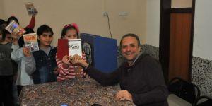 Akşehir'de yazar-öğrenci buluşması