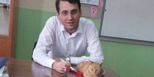 Öğrenciler 'kedili eğitim'i sevdi