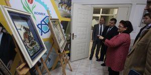 KOMEK Beyşehir Kurs Merkezi'ni ziyaret ettiler