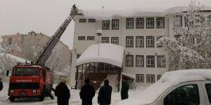 Seydişehir Belediyesinden kar temizliği