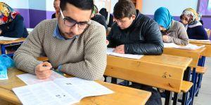 Sarayönü'nde AÖL sınavları yapıldı