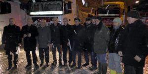 Beyşehirliler Haleplilere yardım için seferber oldu