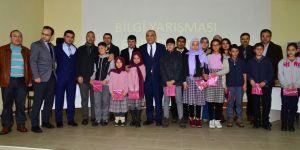 """Sarayönü'nde """"Haydi Bil Bakalım"""" yarışması yapıldı"""