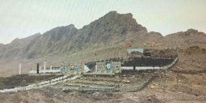 PKK'nın Sincar Dağı eteklerinde kurduğu terör kampı