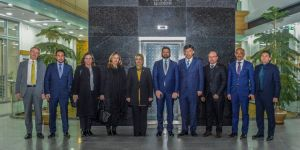 KKTC'li Bakandan Başkan Toru'ya ziyaret