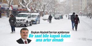 Konya'da bereketli bir kış mevsimi yaşanıyor