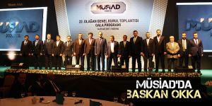 MÜSİAD'da başkan Okka