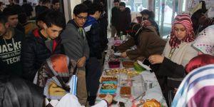 Enderun'dan Halep için yardım kermesi