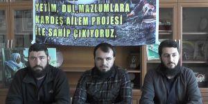 AYDER Suriye'ye çadırkent kuruyor